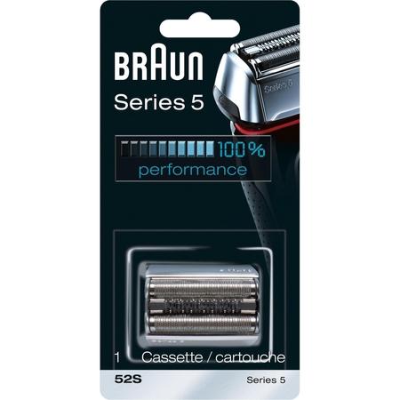 Braun - Braun 5 Serisi Tıraş Makinesi Yedek Başlığı 52S (Gümüş)