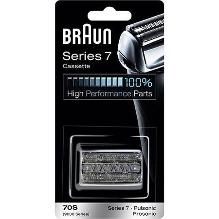 Braun - Braun 7 Serisi Tıraş Makinesi Yedek Başlığı 70S (Gümüş)