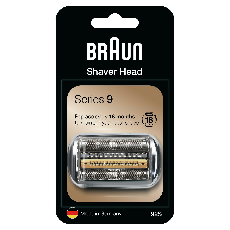 Braun - Braun 9 Serisi Tıraş Makinesi Yedek Başlığı 92S (Gümüş)