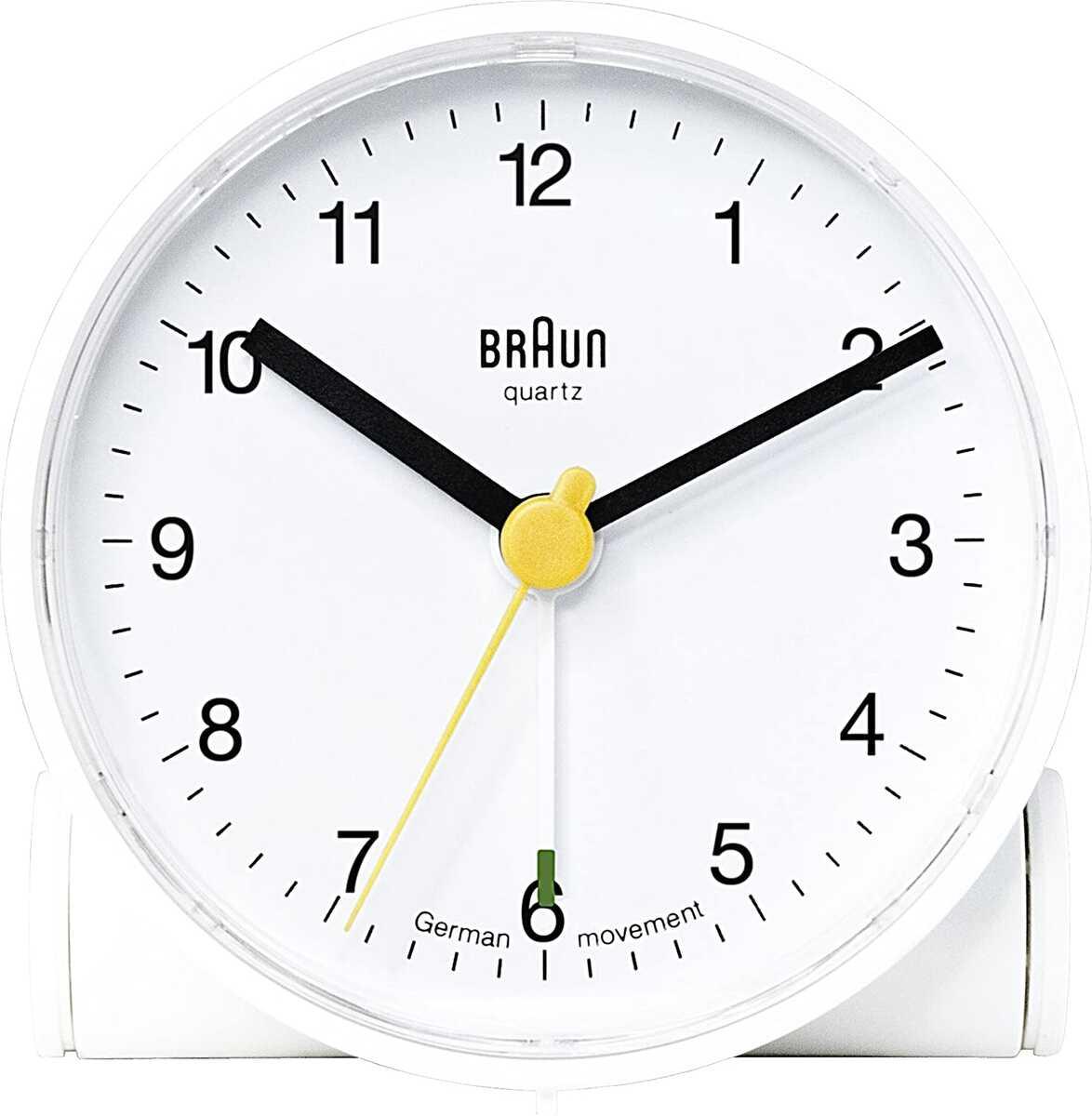 Braun BNC001WHWH Alarmlı Masa Saati Beyaz