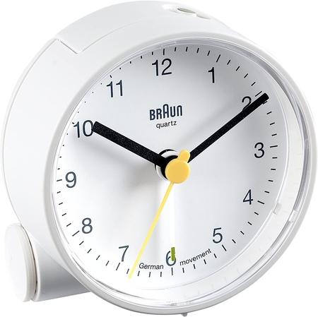 Braun BNC001WHWH Alarmlı Masa Saati Beyaz - Thumbnail