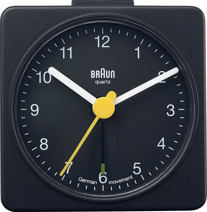 Braun BNC002BKBK Alarmlı Masa Saati Siyah