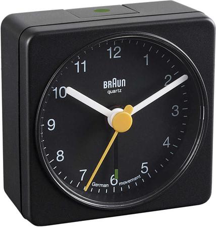 Braun BNC002BKBK Alarmlı Masa Saati Siyah - Thumbnail