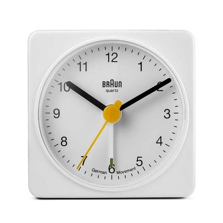 Braun - Braun BNC002WHWH Alarmlı Masa Saati Beyaz