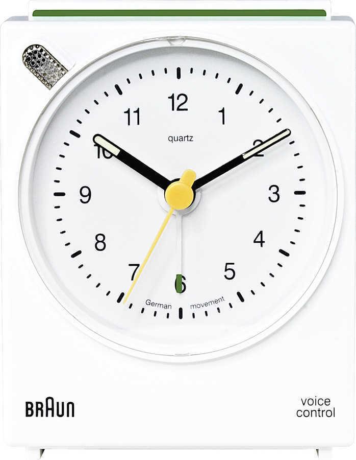 Braun BNC004WHWH Alarmlı Masa Saati Beyaz