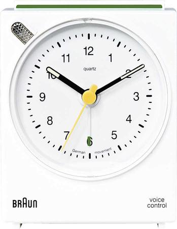 Braun - Braun BNC004WHWH Alarmlı Masa Saati Beyaz