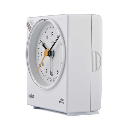 Braun BNC004WHWH Alarmlı Masa Saati Beyaz - Thumbnail
