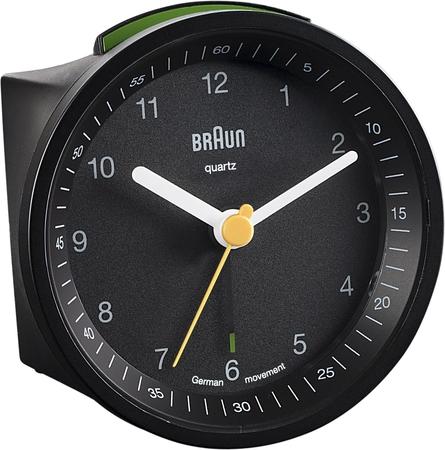 Braun BNC007BKBK Alarmlı Masa Saati Siyah - Thumbnail