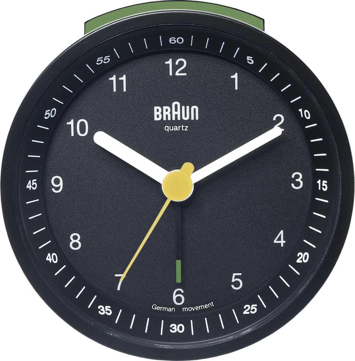 Braun BNC007BKBK Alarmlı Masa Saati Siyah