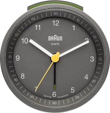 Braun - Braun BNC007GYGY Alarmlı Masa Saati Gri