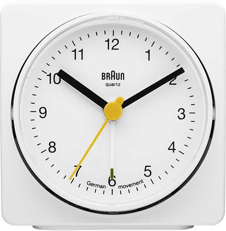 Braun - Braun BNC011WHWH Alarmlı Masa Saati Beyaz