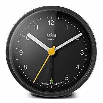 Braun - Braun BNC012BKBK Alarmlı Masa Saati Siyah