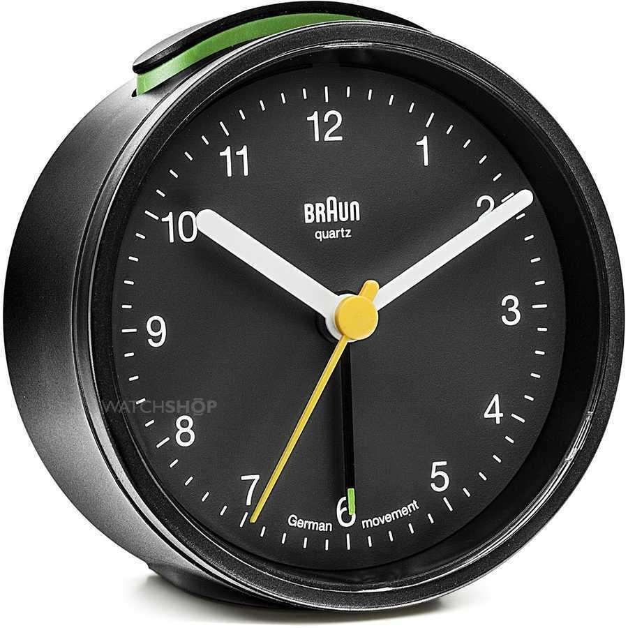 Braun BNC012BKBK Alarmlı Masa Saati Siyah