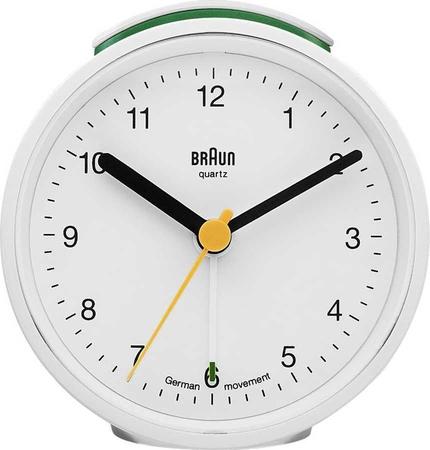 Braun - Braun BNC012WHWH Alarmlı Masa Saati Beyaz