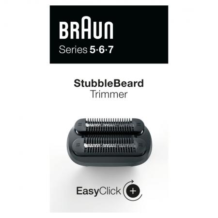 Braun - Braun EasyClick Kirli Sakal Şekillendirme Ataşmanı Series 5, 6 ve 7 Tıraş Makinesi İçin (Yeni Nesil)