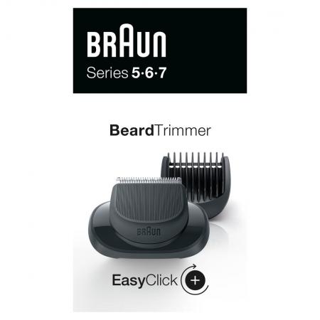 Braun - Braun EasyClick Sakal Şekillendirme Ataşmanı Series 5, 6 ve 7 Tıraş Makinesi İçin (Yeni Nesil)