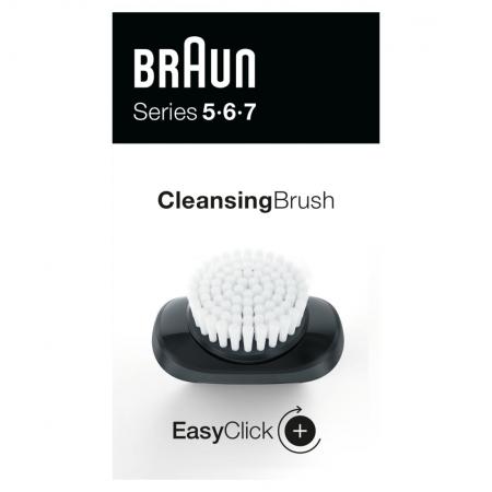 Braun - Braun EasyClick Temizleme Fırçası Ataşmanı Series 5, 6 ve 7 Tıraş Makinesi İçin (Yeni Nesil)
