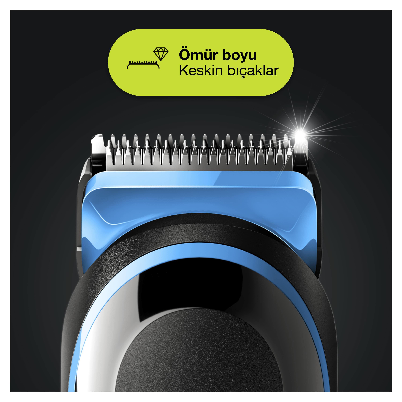 Braun MGK 5245 Erkek Bakım Kiti 7in1 Şekillendirici + Gillette Hediye - Thumbnail
