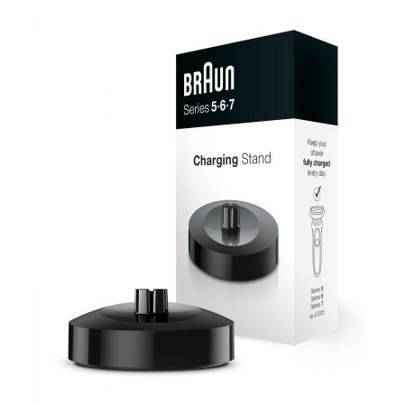 Braun - Braun Şarj Standı Series 5, 6 ve 7 Tıraş Makinesi İçin (Yeni Nesil)