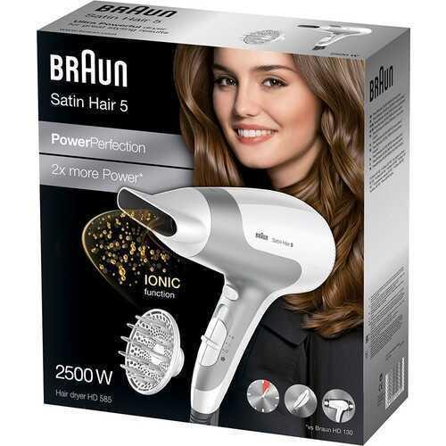Braun Satin Hair 5 PowerPerfection HD585 Saç Kurutma Makinesi