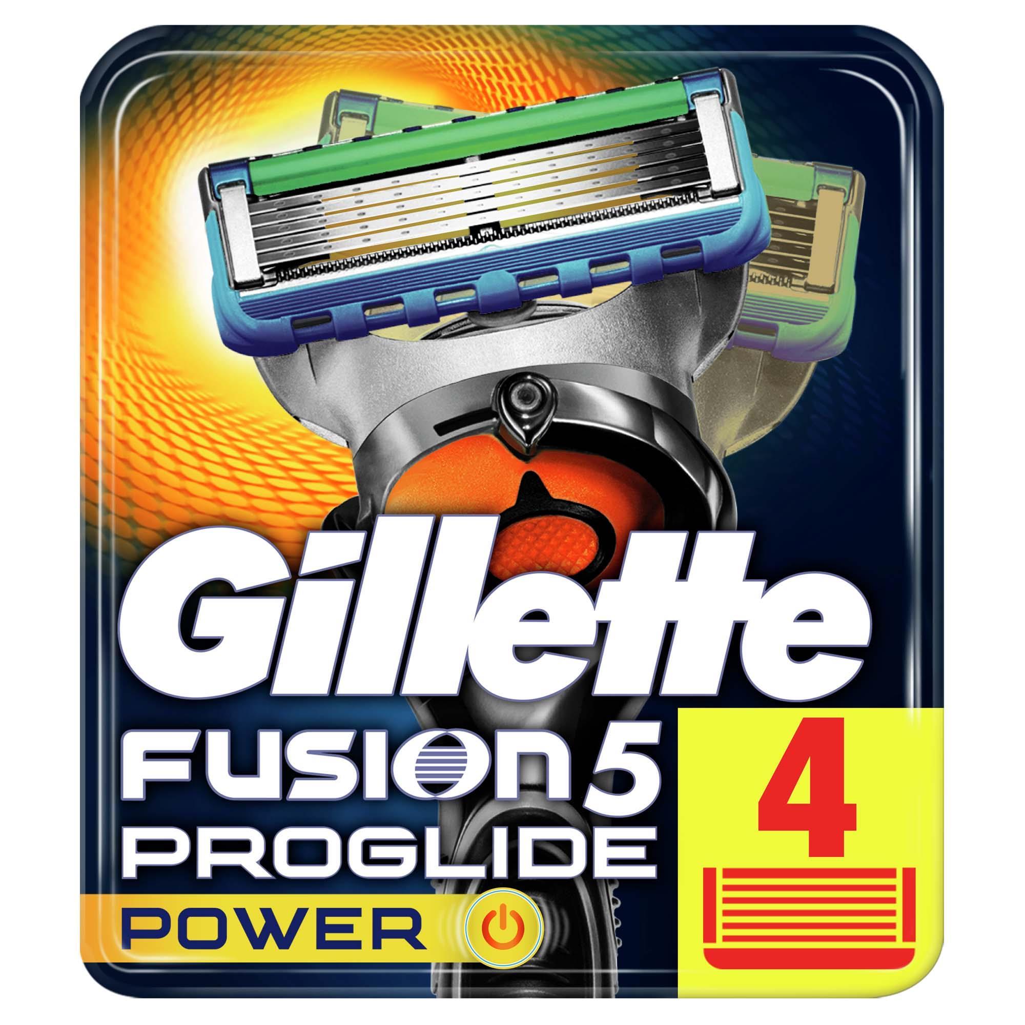 GILLETTE - Fusion Proglide Power 4'lü Bıçak
