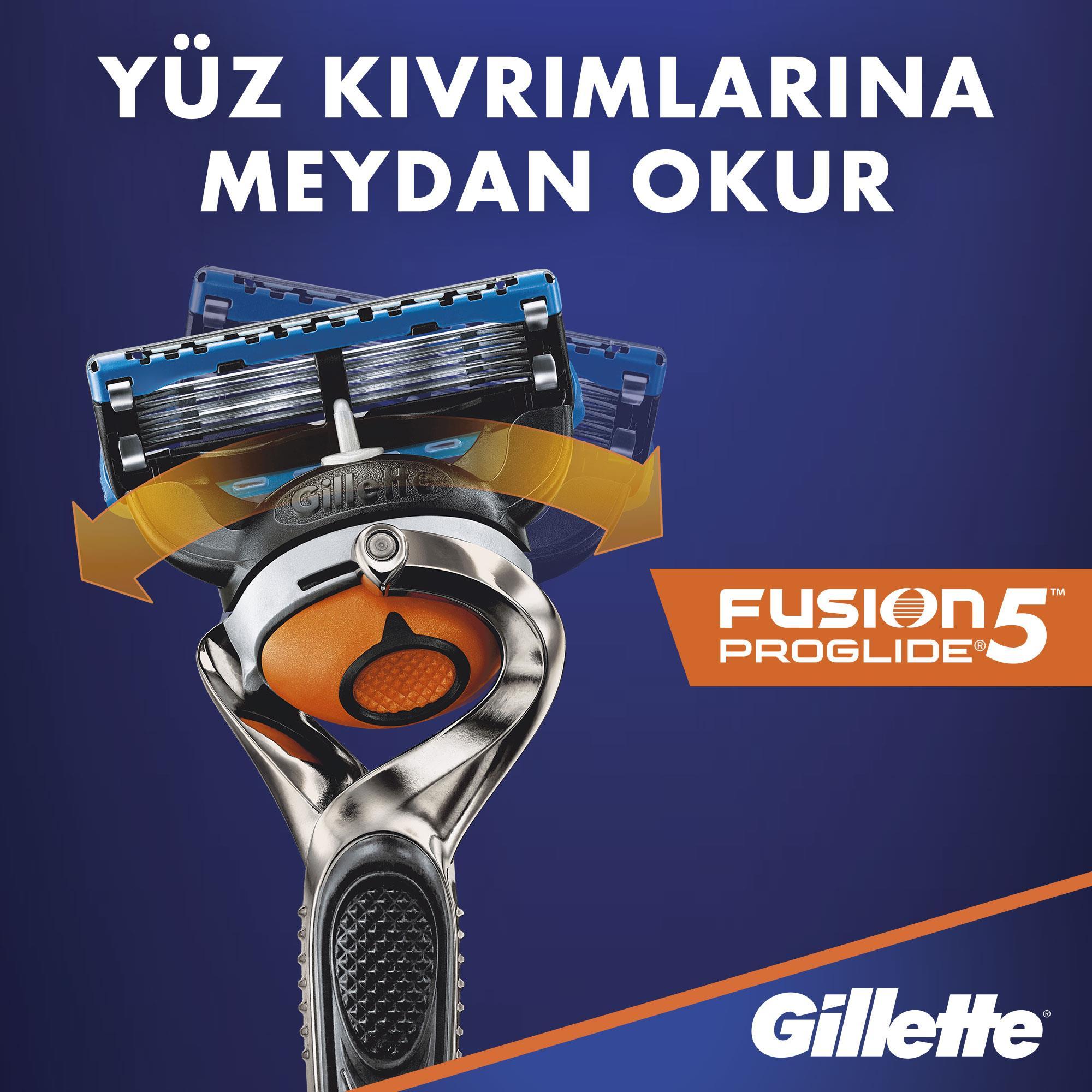 Fusion Proglide Power 4'lü Bıçak - Thumbnail