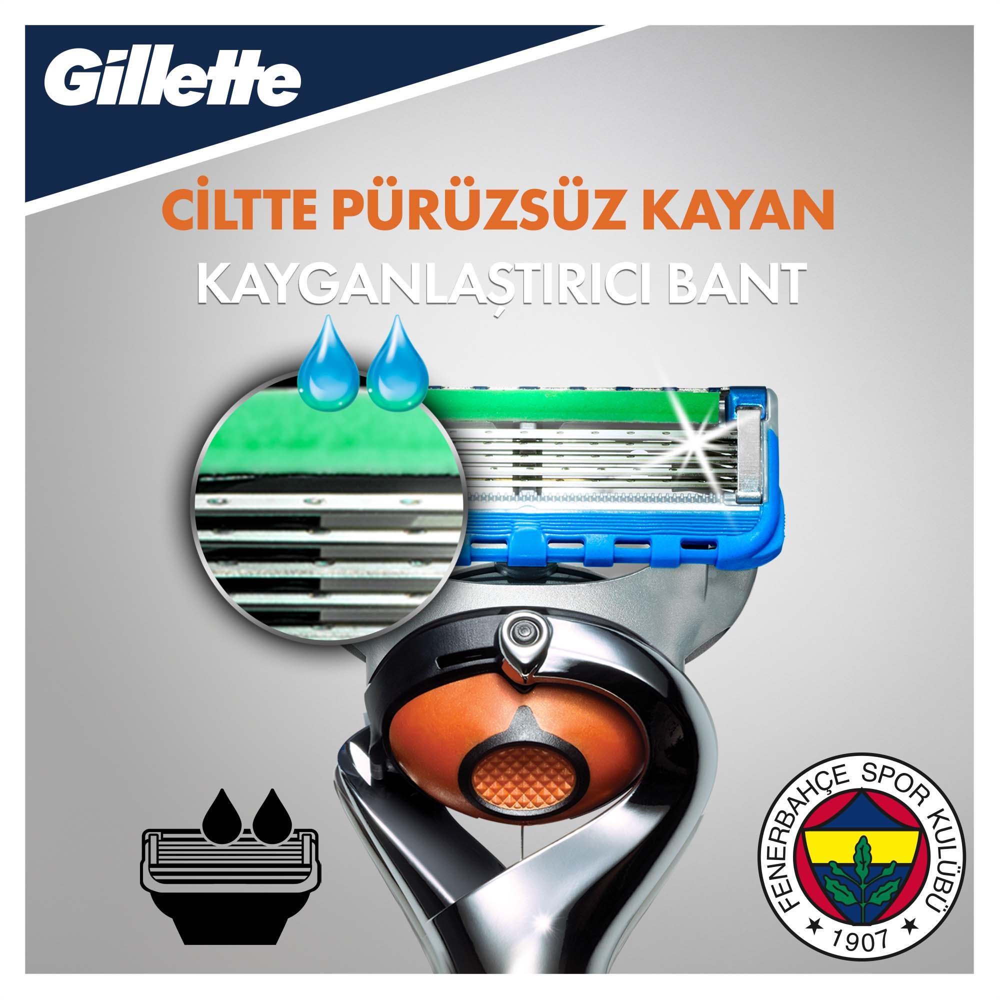 Fusion Proglide Tıraş Makinesi + 4'lü Yedek Başlık Fenerbahçe Özel Seri - Thumbnail