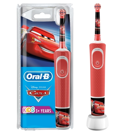 Oral-B - Oral-B D100 Vitality Cars Özel Seri Çocuklar İçin Şarj Edilebilir Diş Fırçası