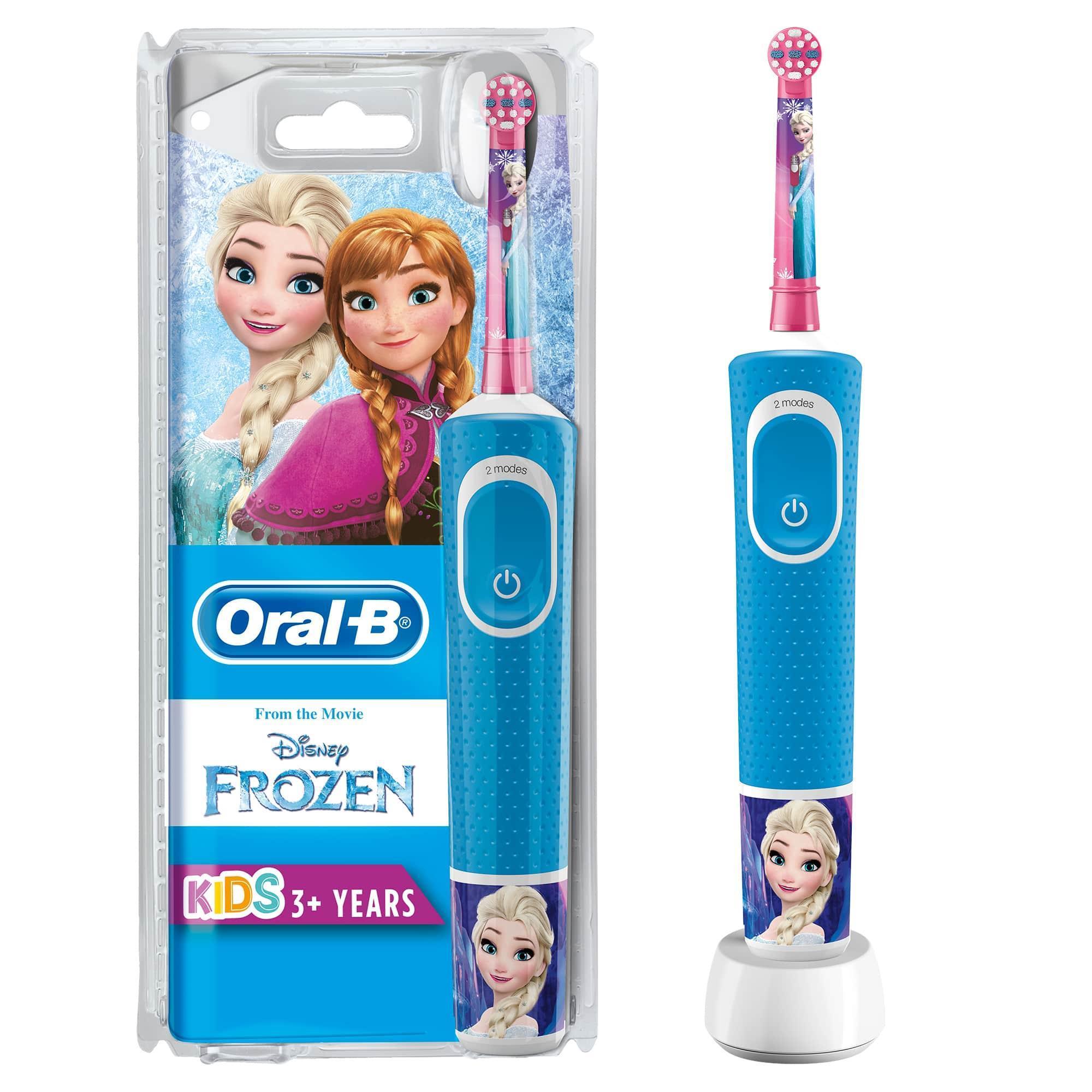 Oral-B - Oral-B D100 Vitality Frozen Özel Seri Çocuklar İçin Şarj Edilebilir Diş Fırçası