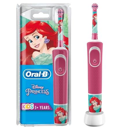 Oral-B - Oral-B D100 Vitality Princess Özel Seri Çocuklar İçin Şarj Edilebilir Diş Fırçası
