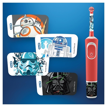 Oral-B D100 Vitality Star Wars Özel Seri Çocuklar İçin Şarj Edilebilir Diş Fırçası - Thumbnail