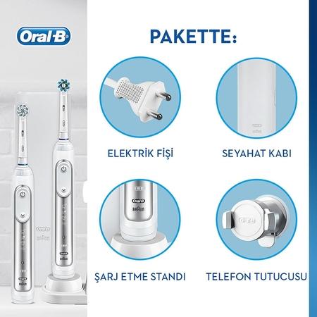 Oral-B Genius 8900 2'li Avantaj Paketi Şarj Edilebilir Diş Fırçası - Thumbnail