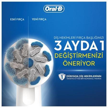Oral-B Sensitive Ultra Thin 4'lü Diş Fırçası Yedek Başlığı EB60 - Thumbnail