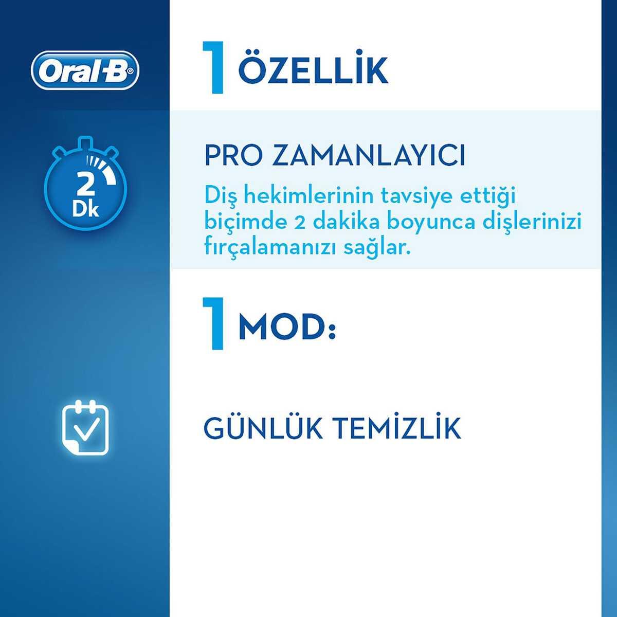 Oral-B Vitality D100 Fenerbahçe Serisi Şarjlı Diş Fırçası