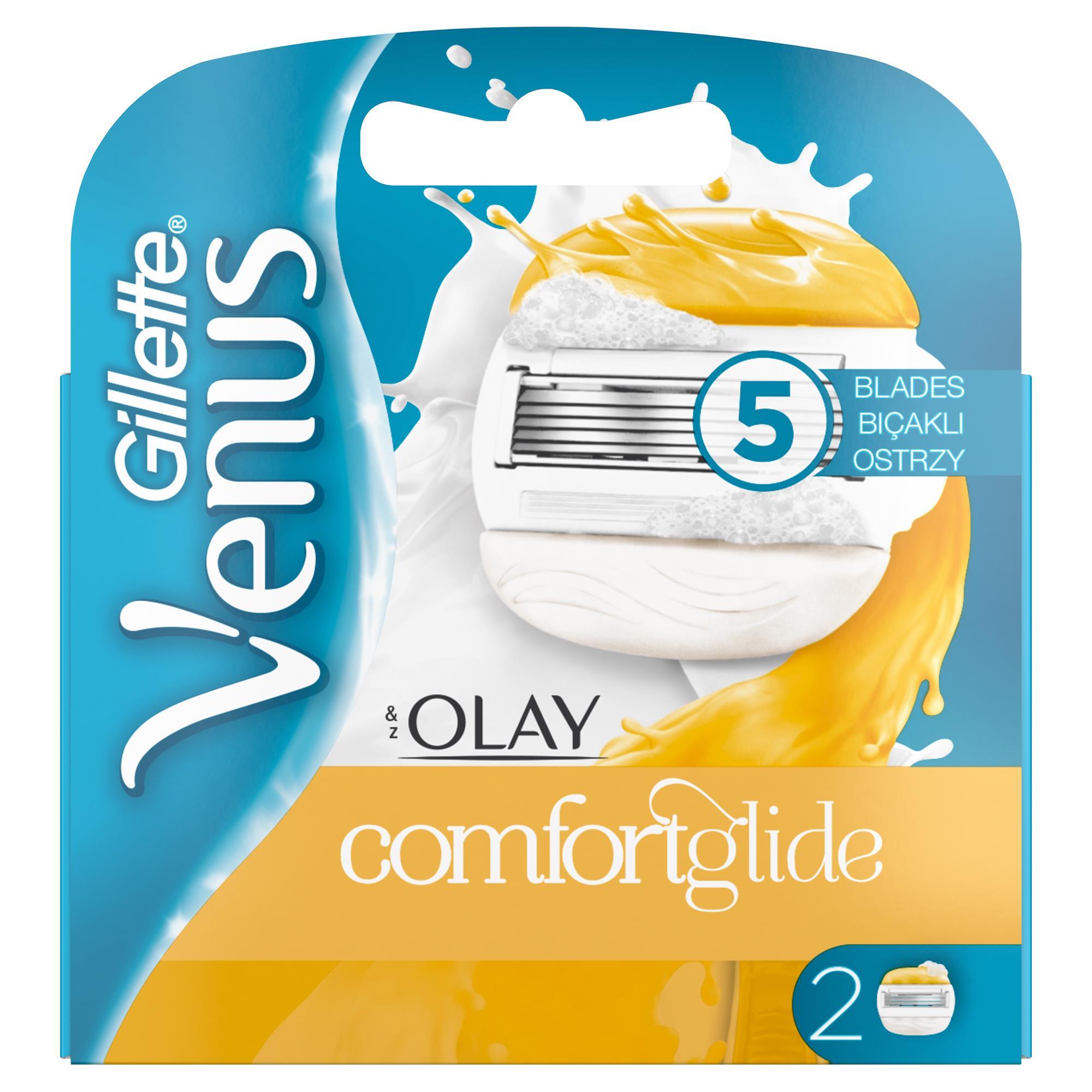 Gillette - Venus Comfort Glide Olay 2'li Yedek Başlık